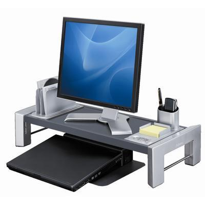 Fellowes 8037401 Professional Series Flat Panel Workstation - Stand for flat panel - screen size: up to 21