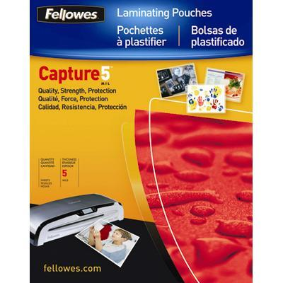 Fellowes 52040 Letter 5MIL Laminating Pouches  100 Pack