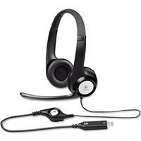 Logitech ClearChat Comfort/USB Headset H390 - Black