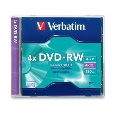 Verbatim 94836 DataLifePlus DVD-RW x 1 - 4.7 GB - storage media