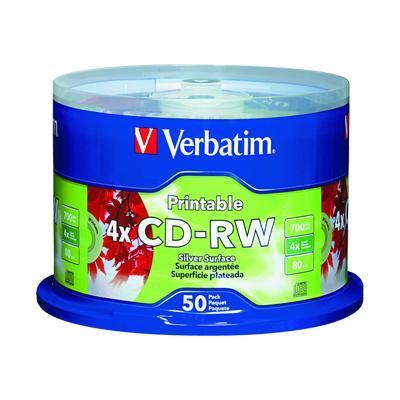 Verbatim 95159 CD-RW 80Min. 700MB 2X-4X - Storage media