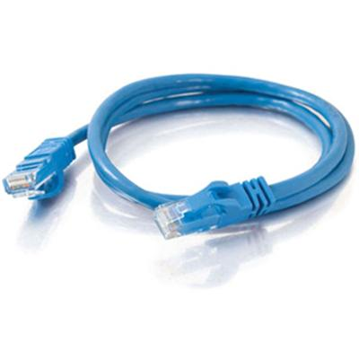 Cables To Go 22805 14ft Cat6 Snagless UTP Unshielded Ethernet Network Patch Cable (USA) - Blue - Patch cable - RJ-45 (M) to RJ-45 (M) - 14 ft - UTP - CAT 6 - mo