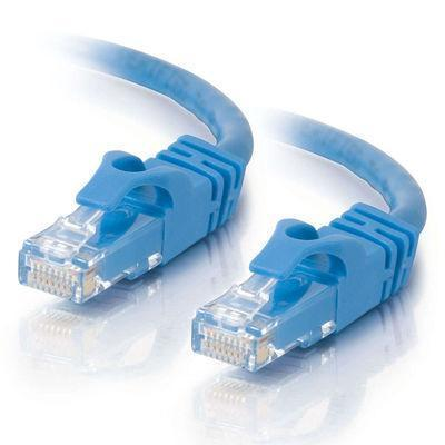 Cables To Go 22807 25ft Cat6 Snagless UTP Unshielded Ethernet Network Patch Cable (USA) - Blue - Patch cable - RJ-45 (M) to RJ-45 (M) - 25 ft - CAT 6 - molded