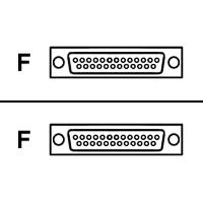 Black Box FA412-R2 Gender changer - DB-25 (F) to DB-25 (F)