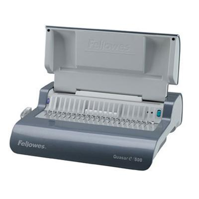 Fellowes 5216901 QUASAR E 500 COMB BINDING MACHINE