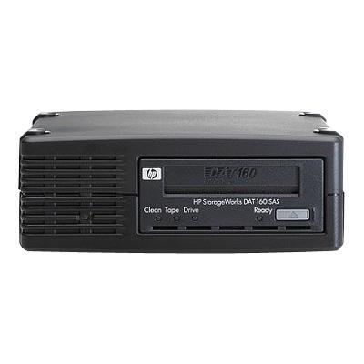 StorageWorks DAT 160 External Tape Drive - Tape drive - DAT ( 80 GB / 160 GB ) - DAT-160 - SAS - external