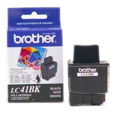 Brother LC41BK2PKS Black Ink Cartridge - 2 Pack