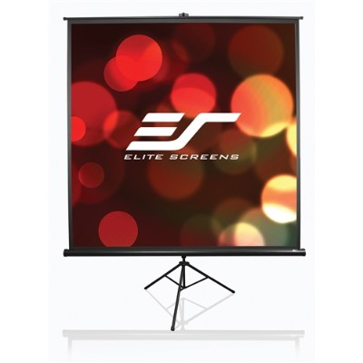 Elite Screens T136NWS1 136 Tripod Projector Screen 96 x 96