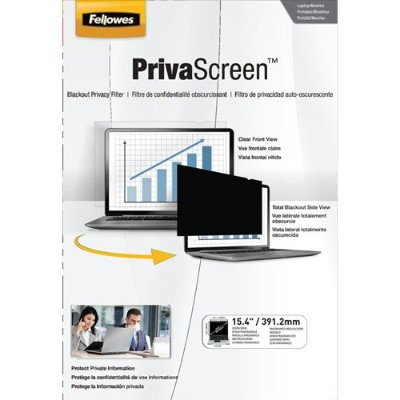Fellowes 4800701 PrivaScreen Blackout Privacy Filter - 15.4 Wide