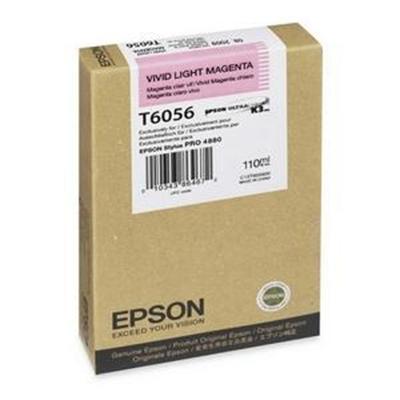 Epson T605C00 T605C - 110 ml - light magenta - original - ink cartridge - for Stylus Pro 4800