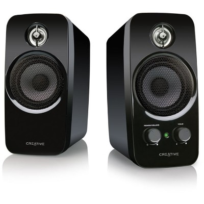 Creative Labs 51MF1601AA000 Inspire T10 2.0 Stereo PC/MP3 Speaker System