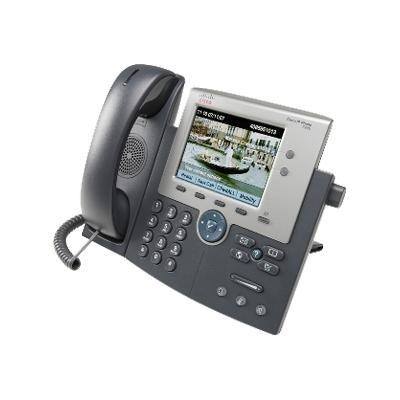 Cisco CP-7945G-CCME Unified IP Phone 7945G - VoIP phone - SCCP  SIP - 2 lines - silver  dark gray - with 1 x user license for  CallManager Express