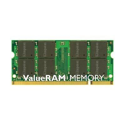 Kingston KVR800D2S6/1G ValueRAM 1GB (1X1GB) PC2-6400 800MHz DDR2 SDRAM SODIMM 200-pin Unbuffered Non-ECC Memory Module