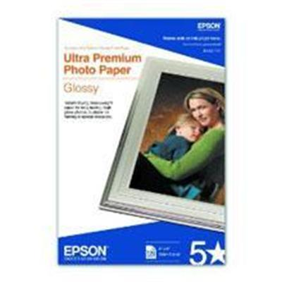 Epson S042174 Ultra Premium Glossy Photo Paper - Photo paper - glossy - 11.8 mil - 4 in x 6 in 100 sheet(s) - for EcoTank ET-3600  Expression ET-3600  WorkForce