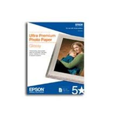 Epson S042182 25 Sheets 8.5 x 11 Ultra Premium Photo Paper Glossy