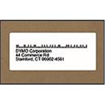 Dymo 30255 Address Labels - Black on Yellow