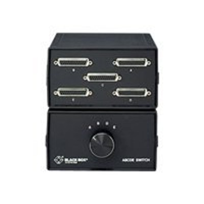 Black Box SWL026A-FFFFF Lifetime ABCDE DB25 Switch - Switch - 5 x parallel / serial - desktop