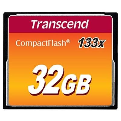 Transcend TS32GCF133 32GB CompactFlash Memory Card 133x