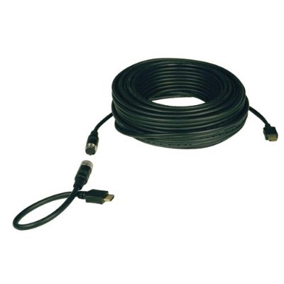 TrippLite P568-050-EZ 50ft Easy Pull All-in-One Cable/Connector Kit - HDMI Monitor Cable w/ Connectors (HDMI - M to HDMI - M)