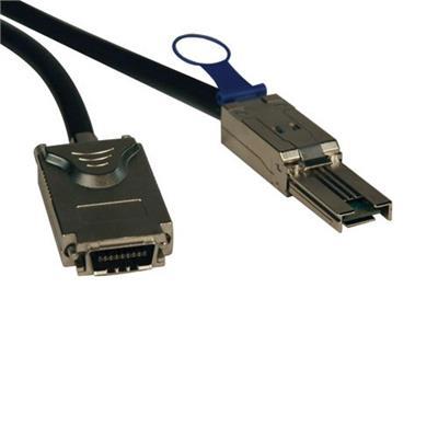 TrippLite S520-01M 1-Meter External SAS Cable  Mini-SAS SFF-8088 (iSAS) to SFF-8470 (4xInfiniband)