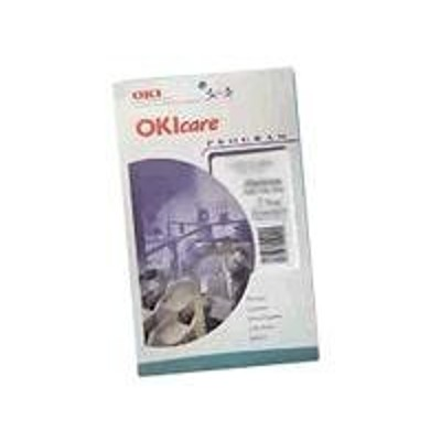 Oki 58263701 care - Extended service agreement - parts and labor - 1 year - on-site - for C7300  7300 V2  7300n V2  7350  7550  ES 2426