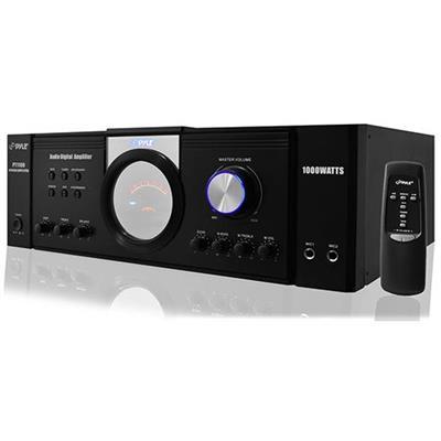 Pyle PT1100 1000 Watt Power Amplifier DJ Equipment