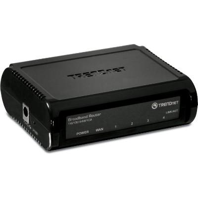 TRENDnet TW100-S4W1C 4-Port Broadband Router