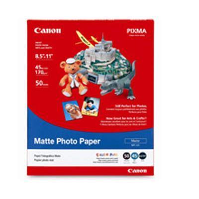 Canon 7981a004 Matte Photo Paper - 50 Sheet(s)