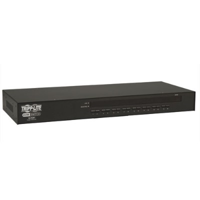 TrippLite B042-016 16-Port 1U Rack-Mount USB/PS2 KVM Switch with On-Screen Display