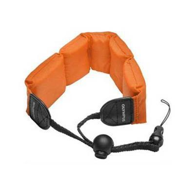 Olympus 202204 Floating Foam Strap for Stylus SW Camera Series  Orange
