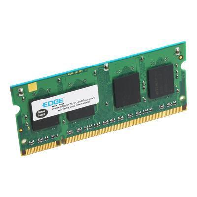 Edge Memory PE212087 DDR2 - 2 GB - SO-DIMM 200-pin - 800 MHz / PC2-6400 - unbuffered - non-ECC