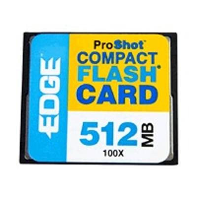 Edge Memory PE204365 ProShot 100X CF Memory Card - 512MB