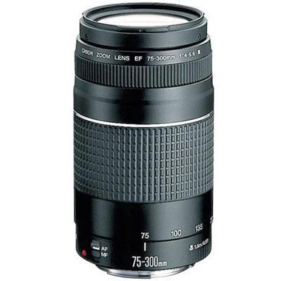 Canon 6473A003 EF 75-300mm f/4-5.6 III Telephoto Zoom Lens