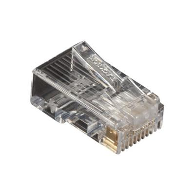 Black Box FMTP5E-250PAK CAT5e Modular Plug - Network connector - RJ-45 (M) - CAT 5e - solid  stranded (pack of 250 )