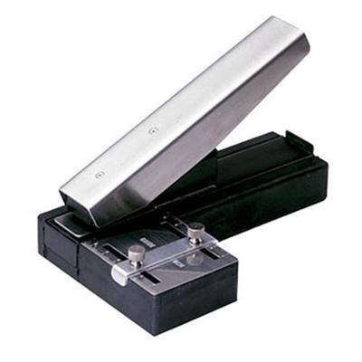 Brady People ID 3943-1020 Stapler-Style Slot Punch with adjustable centering guide