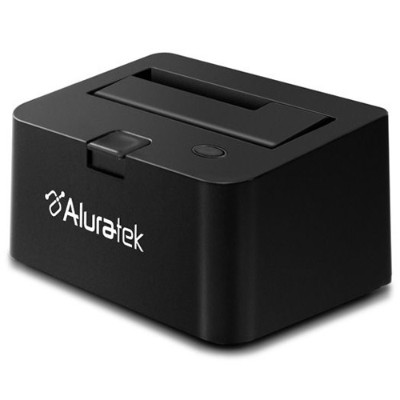 Aluratek AHDDU100F USB 2.0 2.5 / 3.5 SATA Hard Drive Docking Enclosure