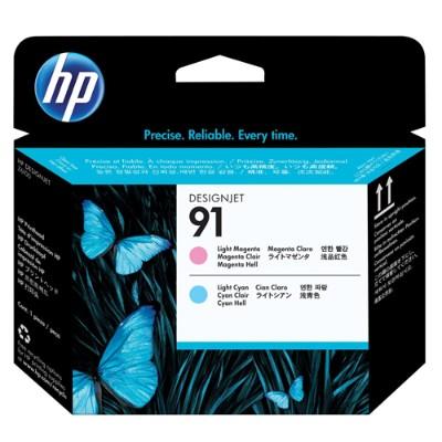 HP Inc. C9462A 91 - Light magenta  light cyan - printhead - for DesignJet Z6100  Z6100ps