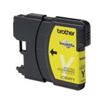 Innobella High Yield Yellow Ink Cartridge for use with MFC-5890CN  MFC-6490CW Printer. In accordance with ISO/IEC 24711 to yield statement in all areas.
