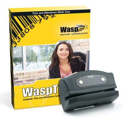 Wasp 633808551162 WaspTime Enterprise with Barcode Clock