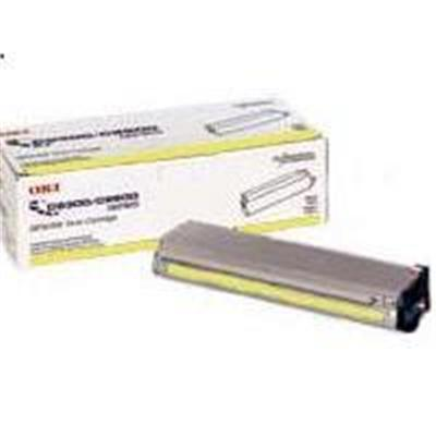 Oki 41963001 Yellow Toner Cartridge for C7100/C7300/C7500 Series