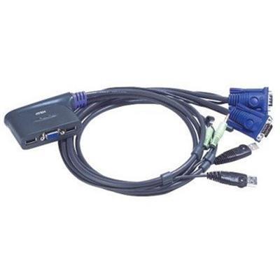 Aten Technology CS62U Petite CS-62U - KVM / Audio Switch - USB - 2-Port - 1 Local User