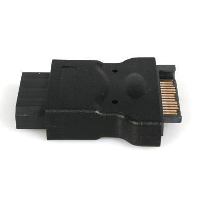 StarTech.com LP4SATAFM SATA 15 Pin Power Adapter to LP4 M/F