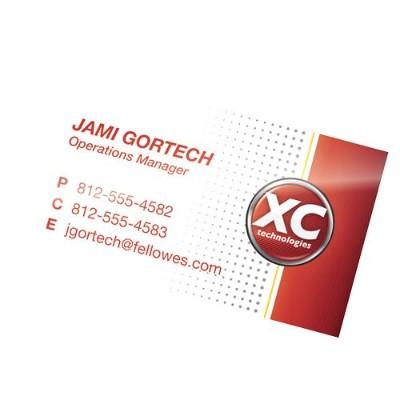 Fellowes 52031 Hot Pouch Business Card Pouch 5Ml 100Pk