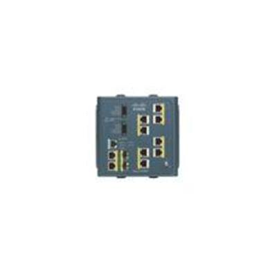 Cisco IE-3000-8TC Industrial Ethernet switch with 8 Ethernet 10/100 ports