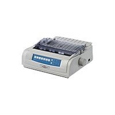 Oki 62418702 Microline 420 - Printer - monochrome - dot-matrix - Roll (10 in) - 240 x 216 dpi - 9 pin - up to 570 char/sec - parallel  USB