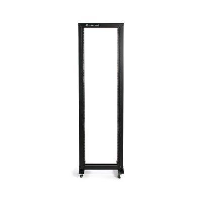 Startech 2postrack 42u 2 Post Open Frame Rack With Casters - Relay Rack - 42u