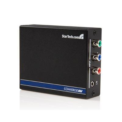 StarTech.com CPNTA2HDMI Converge A/V Component with Audio to HDMI Format Converter - Video converter - HDMI (HDCP)