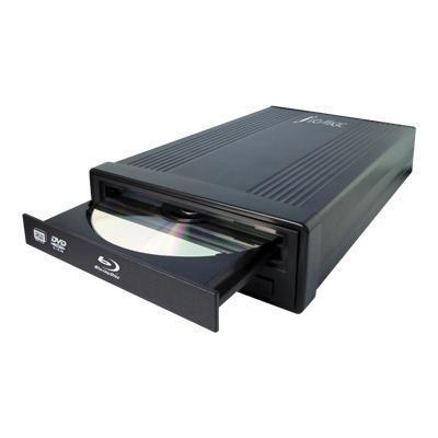 Hi-Val IBD1E IBD1E - Disk drive - BD-RE - 12x2x10x - USB 2.0 - external