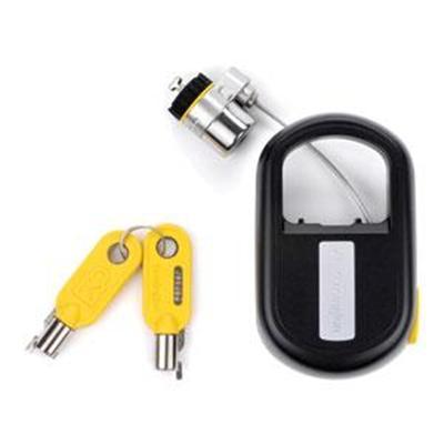 Kensington K64538US MicroSaver Retractable - Security cable lock - black - 4 ft