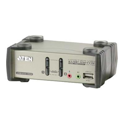 Aten Technology CS1732B MasterView CS1732B KVMP Switch - KVM / audio / USB switch - USB - 2 x KVM / audio / USB - 1 local user - desktop